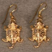 Texas Solid 14K Gold Earrings